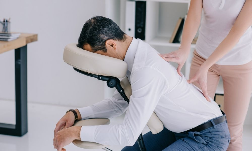 Formation massage amma assis - Midi Formation
